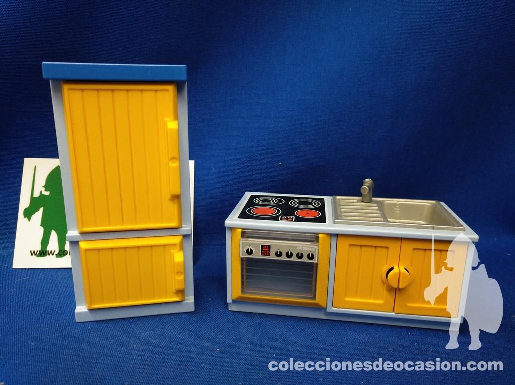 Colecciones de Ocasión | Playmobil Muebles de cocina, frigorífico ...