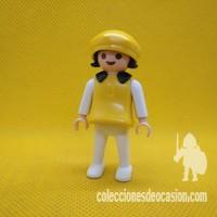 Playmobil Niña con gorro amarillo 482dfd97d59