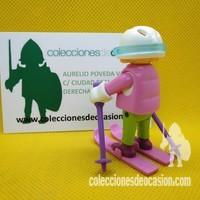 Playmobil Niña con esquies 5fe499a0546