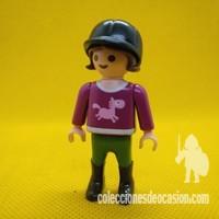 Playmobil Niña con ropa de jinete 833ea9040c7