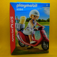 Playmobil Mujer con scooter Special Plus REF 9084