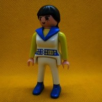 Playmobil Mujer city, chica con coleta