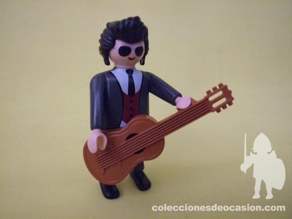 Colecciones De Ocasión Playmobil Roy Orbison Rockero Peret