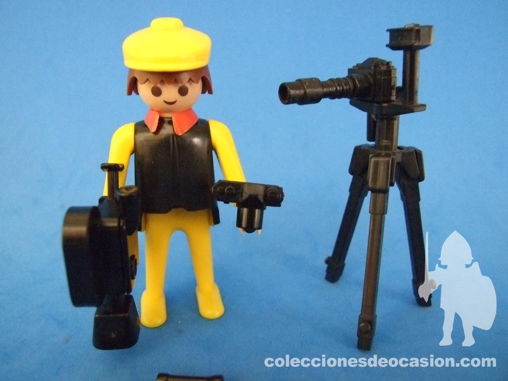 308012 Objetivo cámara fotos rélfex playmobil,camera,photographer,fotógrafo