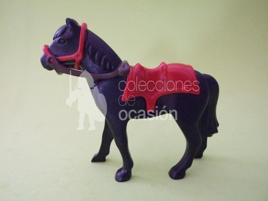 Nuevo. Animales Caballo negro Playmobil