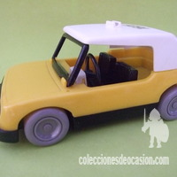 Playmobil Antiguo coche amarillo