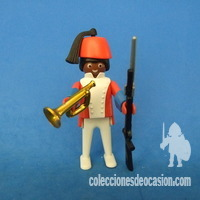 Playmobil Soldado colonial ingles