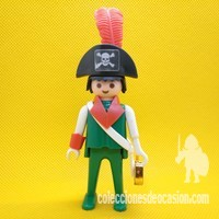 Playmobil Antiguo pirata de manos fijas, click