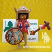 Playmobil Antiguo guerrero indio, click