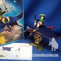 Playmobil Pirata fantasma con manta REF 4801