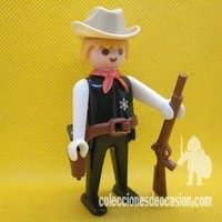 Playmobil Antiguo sheriff negro