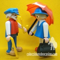Playmobil Pareja de ancianos, clicks