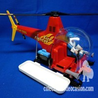 Playmobil Helicóptero de bomberos fire fighter FLH 1205