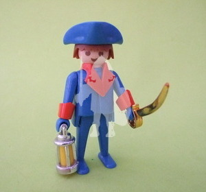 Playmobil Antiguo pirata con faro